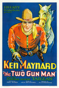 "Movie Posters:Western, The Two Gun Man (Tiffany, 1931). One Sheet (27.25"" X 41"").. ..."