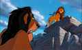 Animation Art:Presentation Cel, The Lion King Presentation Cel and Production Background(Walt Disney, 1994)....