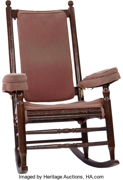 Antiques Decorative Americana John F Kennedy White House Rocking Chair In