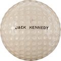 Miscellaneous:Ephemera, John F. Kennedy: Presidential Golf Ball....