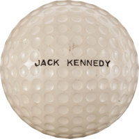John F. Kennedy: Presidential Golf Ball