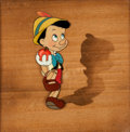 Animation Art:Production Cel, Pinocchio Production Cel Set-Up (Walt Disney, 1940)....
