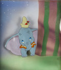 Animation Art:Production Cel, Dumbo Dumbo and Timothy Production Cel Set-Up (Walt Disney,1941)....