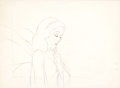 Animation Art:Production Drawing, Pinocchio Blue Fairy Production Drawing (Walt Disney,1940)....