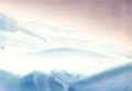 Animation Art:Production Drawing, Polar Trappers Production Background (Walt Disney, 1938)....