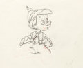 Animation Art:Production Drawing, Pinocchio Production Drawing (Walt Disney, 1940)....