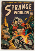 Golden Age (1938-1955):Science Fiction, Strange Worlds #19 (Avon, 1955) Condition: VG-....
