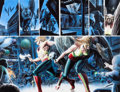 Original Comic Art:Panel Pages, Alex Ross Justice #6 Hawkman and Hawkgirl Double-Page Spread18 and 19 Original Art (DC, 2006)....