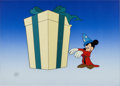 Animation Art:Production Cel, 60th Academy Awards Mickey Mouse Production Cel Set-Up (WaltDisney, 1988)....