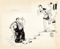 Animation Art:Production Drawing, Grim Natwick Gag Illustration (1928)....