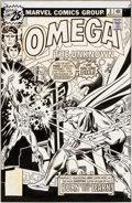 Original Comic Art:Covers, Gil Kane and Frank Giacoia Omega the Unknown #3 ElectroCover Original Art (Marvel, 1976)....