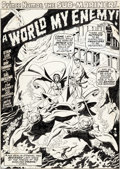 Original Comic Art:Splash Pages, Sal Buscema, Jim Mooney, and Mike Esposito (as Joe Gaudioso)Sub-Mariner #25 Splash Page 1 Original Art (Marvel, 1...