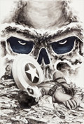 Original Comic Art:Covers, Steve Epting Captain America #31 Red Skull Cover OriginalArt (Marvel, 2007)....