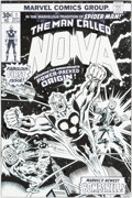 Original Comic Art:Covers, Joe Sinnott Nova #1 Cover Re-Creation Original Art(undated)....