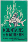 Books:Horror & Supernatural, H. P. Lovecraft. At the Mountains of Madness and Other Novels. Arkham House, 1964. First edition, first printing...