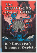 Books:Horror & Supernatural, H. P. Lovecraft & August Derleth. The Watchers Out of Timeand Others. Arkham House, 1974. First edition. Publis...