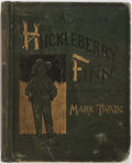 Books:Literature Pre-1900, Mark Twain. The Adventures of Huckleberry Finn. New York:Charles Webster, 1885. First edition, later issue. Pub...