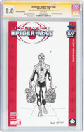 Modern Age (1980-Present):Superhero, Ultimate Spider-Man #100 Hero Initiative Frank Quitely Edition(Marvel, 2006) CGC VF 8.0 White pages....