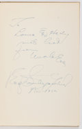 Books:Mystery & Detective Fiction, Erle Stanley Gardner. INSCRIBED. The Court of Last Resort.Sloane, 1952. First edition. Inscribed and signed b...