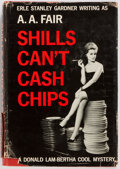 Books:Mystery & Detective Fiction, [Erle Stanley Gardner]. A. A. Fair. INSCRIBED. Shills Can't CashChips. Morrow, 1961. First edition. Warmly in...