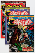 Bronze Age (1970-1979):Horror, Tomb of Dracula Group (Marvel, 1972-76) Condition: Average FN-.... (Total: 42 Comic Books)