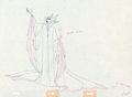 Animation Art:Production Drawing, Sleeping Beauty Maleficent Full-Figure Production Drawing(Walt Disney, 1959)....