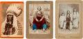 Photography:Cabinet Photos, Cabinet Card: Four Indian Chiefs Q ... (Total: 4 Items)
