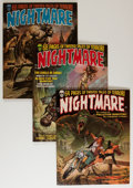 Magazines:Horror, Nightmare #1-23 Group (Skywald, 1971-74) Condition: Average FN/VF.... (Total: 26 Comic Books)
