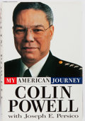 Books:Biography & Memoir, Colin Powell. INSCRIBED TO GEORGE McGOVERN. My AmericanJourney. Random House, 1995. First edition. Inscribed to...