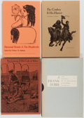 Books:Americana & American History, Group of Four (4) Encino Press Books including: Ramon F. Adams.The Cowman & His Ethics. Signed by the autho... (Total:4 Items)