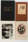Books:Americana & American History, [Texas]. Group of Four (4) SIGNED Texas Books including: Jim Bones.Texas Earth Surfaces. Signed by the auth... (Total: 4 Items)