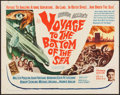 "Movie Posters:Adventure, Voyage to the Bottom of the Sea (20th Century Fox, 1961). HalfSheet (22"" X 28""). Adventure.. ..."