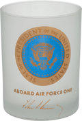 Political:3D & Other Display (1896-present), John F. Kennedy: Air Force One Glass Presidential Gift...
