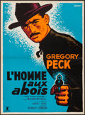 """Movie Posters:Western, The Gunfighter (Prodis, R-1960s). French Affiche (22"""" X 29.75""""). Western.. ..."""