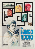 "Movie Posters:Crime, The Long Goodbye (United Artists, 1973). Italian 4 - Foglio (55"" X78""). Crime.. ..."