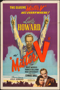 "Movie Posters:Adventure, Mister V (United Artists, 1942). One Sheet (27"" X 41""). Adventure....."