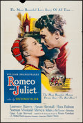 """Movie Posters:Drama, Romeo and Juliet (United Artists, 1954). One Sheet (27"""" X 41""""). Drama.. ..."""