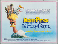 "Monty Python and the Holy Grail (EMI, 1975). British Quad (30"" X 40""). Comedy"