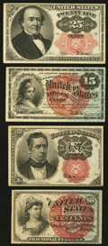 Fractional Currency:Fourth Issue, Fourth and Fifth Issue Notes.. ... (Total: 4 items)