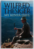 Books:Biography & Memoir, Wilfred Thesiger. SIGNED. My Kenya Days. Harper CollinsPublishers, 1994. First English edition. Signed by the a...