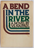 Books:Fiction, V. S. Naipaul. SIGNED. A Bend in the River. Alfred A. Knopf,1979. First edition. Signed by the author on the ti...