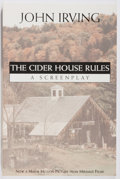 Books:Fiction, John Irving. SIGNED. The Cider House Rules, A Screenplay.Hyperion, 1988. First edition. Signed by the author on...