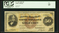Large Size:Gold Certificates, Fr. 1192 $50 1882 Gold Certificate PCGS Fine 15.. ...