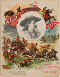 Miscellaneous:Ephemera, Buffalo Bill's Wild West: 1893 Programme. ...