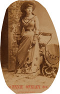 Photography:Cabinet Photos, Annie Oakley: An 1886 Photo by Anderson of New York. ...