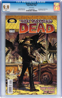 Walking Dead #1 (Image, 2003) CGC MT 9.9 White pages