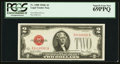 Small Size:Legal Tender Notes, Fr. 1508 $2 1928G Legal Tender Note. PCGS Superb Gem New 69PPQ.. ...