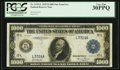 Large Size:Federal Reserve Notes, Fr. 1133-L $1,000 1918 Federal Reserve Note PCGS Very Fine 30PPQ.. ...