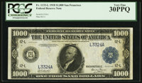 Fr. 1133-L $1,000 1918 Federal Reserve Note PCGS Very Fine 30PPQ