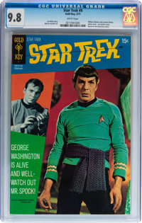 Star Trek #9 (Gold Key, 1971) CGC NM/MT 9.8 White pages